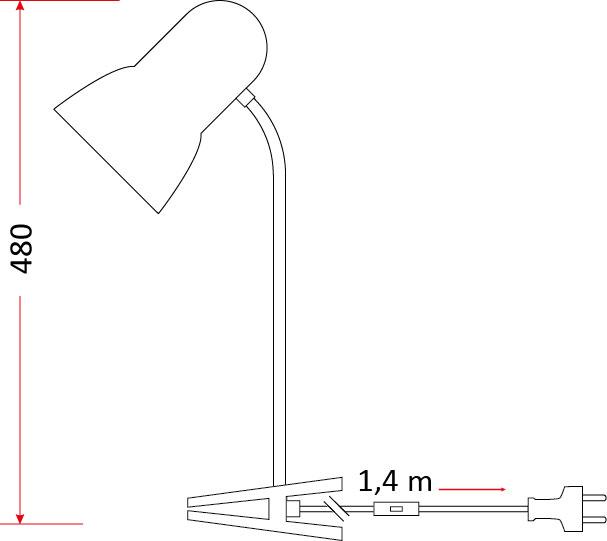Lampka biurkowa L3 [beżowa]